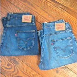 Vintage Levi's 567 jean, 31x30